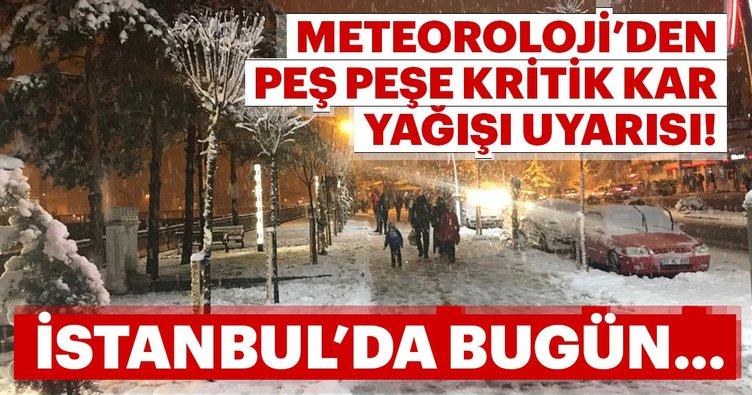 İstanbul'a Kar Yağacak Mı? İşte Meteoroloji'den İstanbul Açıklaması
