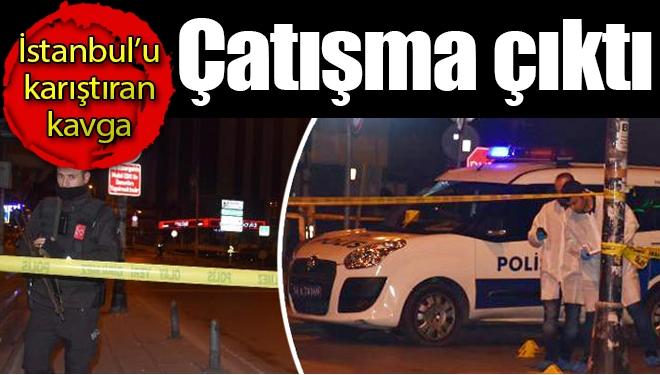 İstanbul'da Çatışma Çıktı, 1'i Polis 3 Kişi Yaralandı
