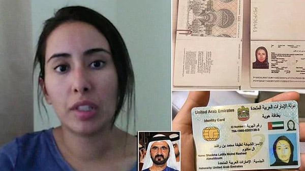 Kaçıp Ortadan Kaybolan Arap Prensesi Yakalandı
