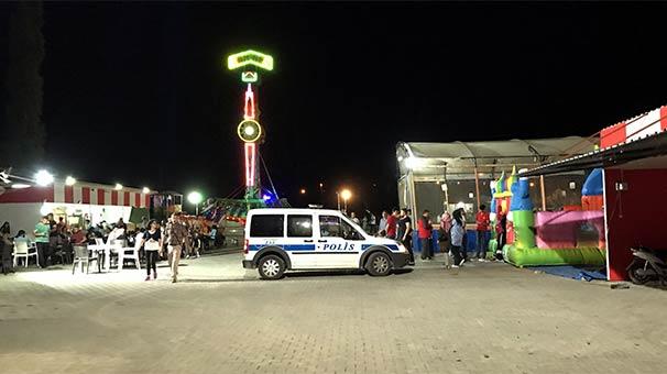 Kırşehir'de Feci Kaza! Lunaparkta Oyun Treni Devrildi: 1 Ölü 3 Yaralı