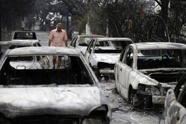 Komşu'da Yangın Faciasının Boyutu Giderek Artıyor, Her Yer Ceset Dolu