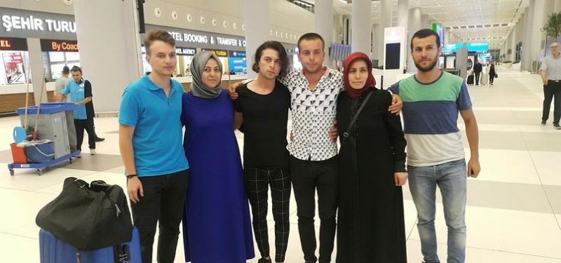 Libya'da Tutulan 6 Türk Gemici İstanbul'a Döndü