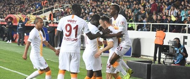 Malatya'da Final Biletini Galatasaray Aldı