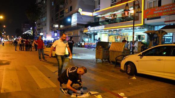 Mersin'de Gecenin Bir Yarısı Künefeciye Silahlı Saldırı Gerçekleştirildi 1 Kişi Kalp Krizi Geçirdi 6 Kişi Yaralandı!