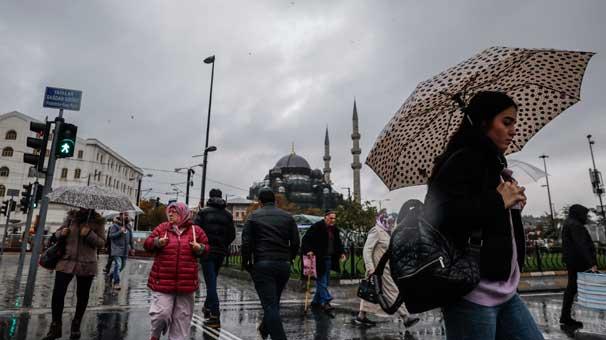 Meteoroloji İnternet Sitesinden Uyardı! Bugün İstanbul Sağanak Yağışlı!