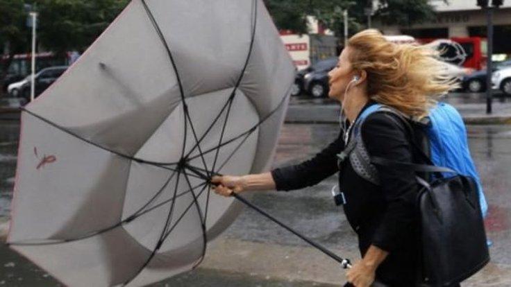 Meteoroloji'den 4 Bölgeye Kuvvetli Fırtına İkazı!