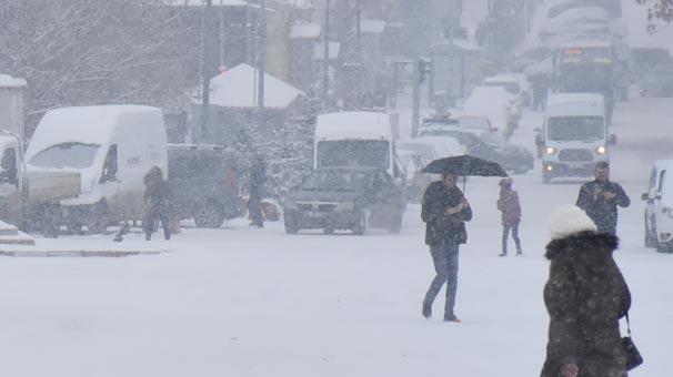 """Meteoroloji'den Çok Önemli """"Kar"""" Uyarısı"""