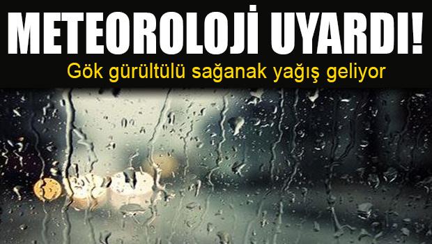 Meteoroloji'den İstanbul'a 8 Haziran İçin Sağanak Yağış Uyarısı!