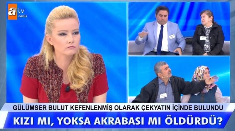 Müge Anlı ile Tatlı Sert 7 Kasım 2019 yeni bölümde vahşice öldürülen Gülümser Bulut cinayetinde sıcak gelişme