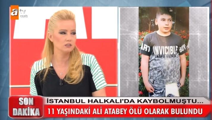 Müge Anlı'da Aranıyordu! 11 Yaşındaki Ali Atabey Ölü Bulundu