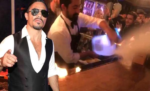 Restoranındaki Şov Sırasında Müşterileri Yanan Nusret'ten İlk Açıklama