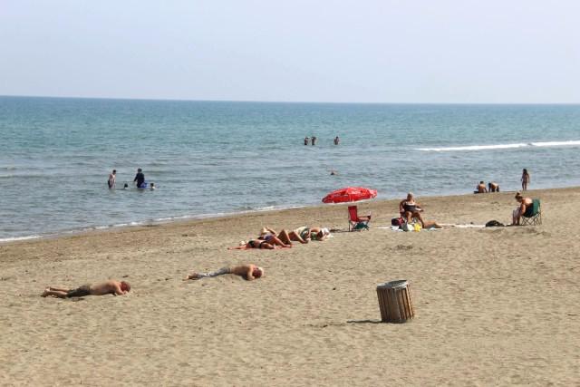 Samsun'da 49 Yılın En Sıcak Eylül Ayı: Vatandaşlar Plajları Doldurdu