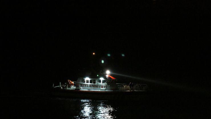 Sarıyer'de Korkunç Olay! Denize Düşen Asker Dalgaların Arasında Gözden Kayboldu