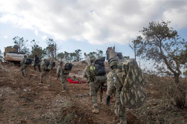 Sayı Güncellendi! İşte 9 Günde Afrin'de Öldürülen Terörist Sayısı