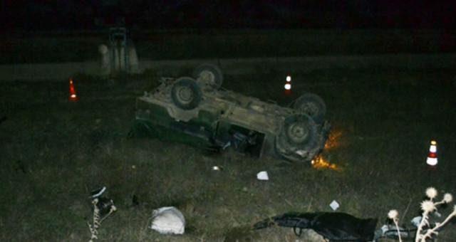 Şırnak'ta Görevden Dönen Askeri Araç Şarampole Devrildi: Yaralılarımız Var!