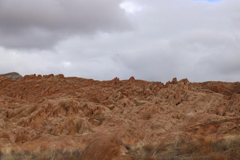 Sivas'ta, Mars Gezegenini Andıran Esrarengiz Kayalıklar