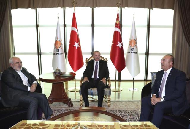 Son Dakika! Başkan Erdoğan, İran Dışişleri Bakanı ile Görüştü