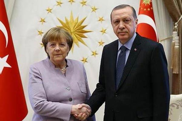 Son Dakika... Cumhurbaşkanı Erdoğan ve Merkel Arasında Kritik Açıklama