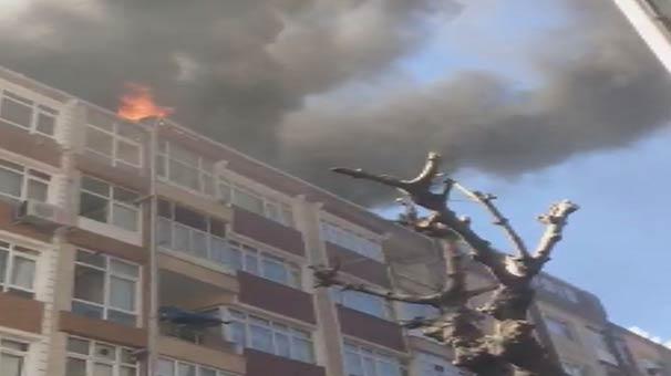 Son Dakika! İstanbul'da Korkutan Yangın
