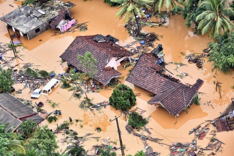 Sri Lanka'da Sel Felaketi! Yaşanan Felakette 146 Kişi Öldü 112 Kişi Kayıp!