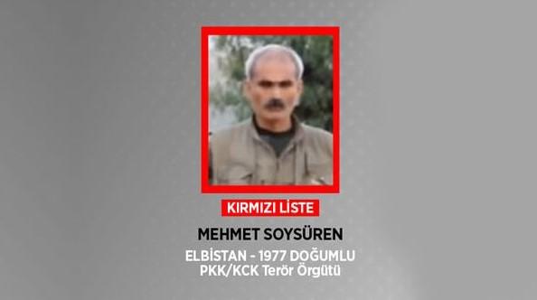 Terör Örgütüne Pençe Darbesi! Kırmızı Listedeki Terörist Öldürüldü