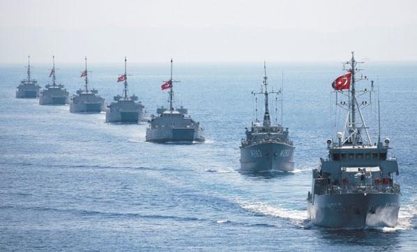 Türkiye Teyakkuzda! Akdeniz'de Savaş Gemisi Hareketliliği