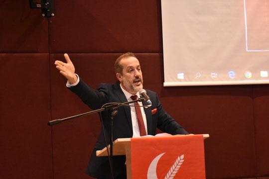 Yeniden Refah Partisi Sultangazi İlçe Başkanı Orhan Kara Oldu!